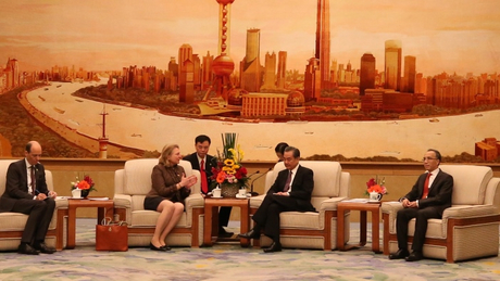 Federal Minister Karin Kneissl meets Chinese Foreign Minister Wang Yi