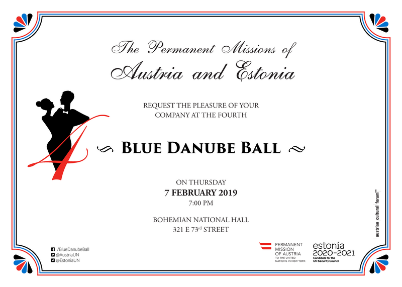 7 February 2019 Blue Danube Ball – Permanent Mission of