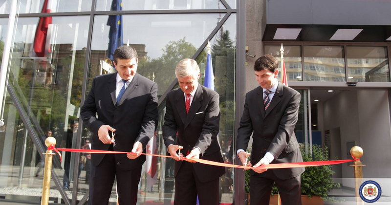 Opening of the new Austrian Embassy in Tbilisi – BMEIA