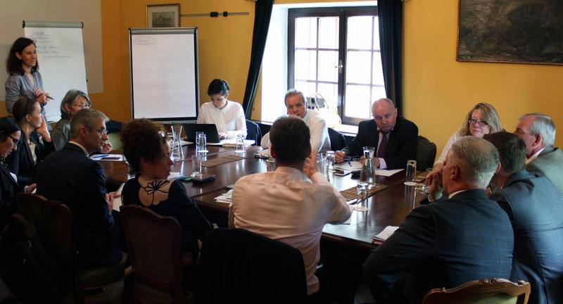 High-level Treffen der OSZE in Baden, sterreich, zum Thema